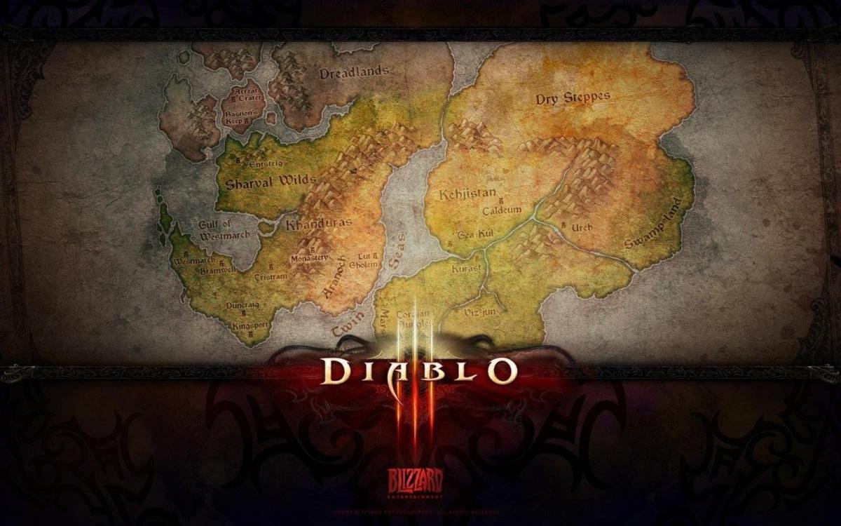 Diablo 3 - mapa